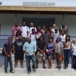 Architecture students tour Caribbean's first net zero energy building